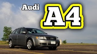 Regular Car Reviews: 2005 Audi A4 Quattro