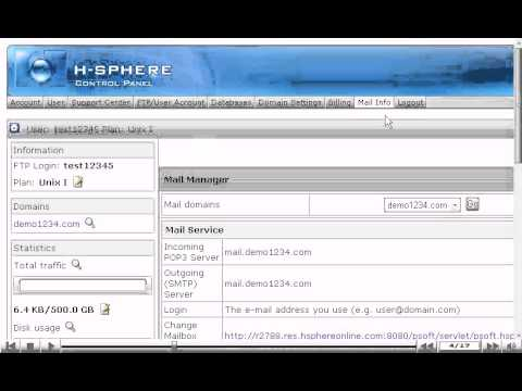 How to create email forwarders in H-Sphere
