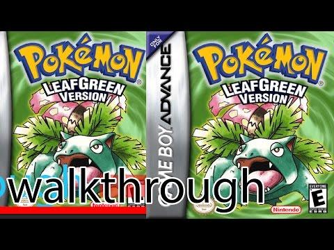 Pokémon Leaf Green Walkthrough Part 1