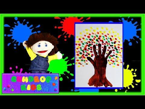 Fall Tree Handprint Art | Gumdrop Kids