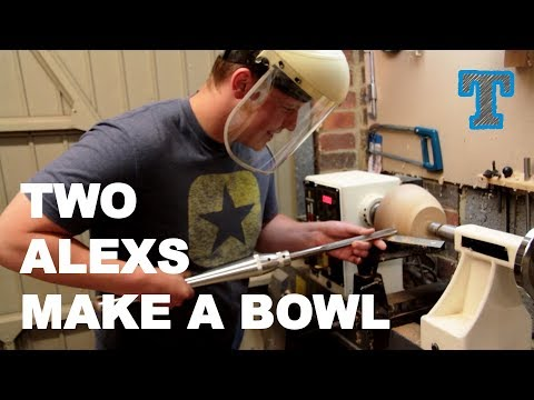 Beginner Woodturning | In the Workshop with a Friend