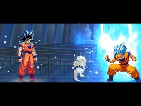 MUGEN 1 1] WN-Goku (Wolf_Strak) Vs Son Goku (280gou