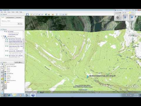 Google Earth:  Adding Topo Map Layer