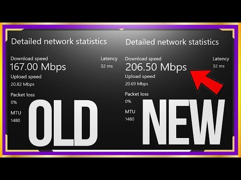 HOW TO GET FASTER INTERNET ON XBOX ONE! *NEW WORKING* FASTER DOWNLOAD SPEED ON XBOX ONE!