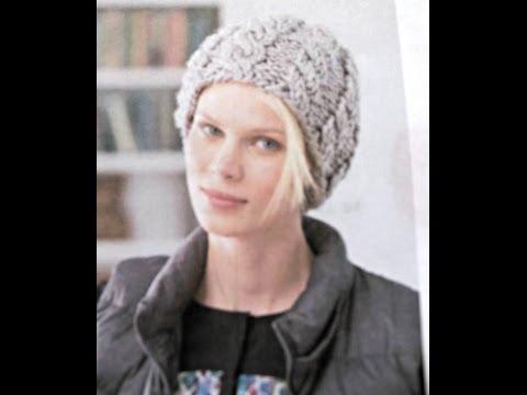 Knit Beret Ponte Knit Pants Chunky Knit Throw Free Knitting Pattern