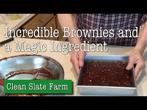Incredible Fudgy Brownies with a Magical Ingredient