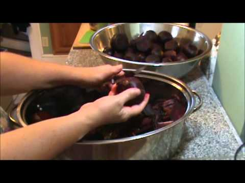 How to Easily Peel Beets video #55