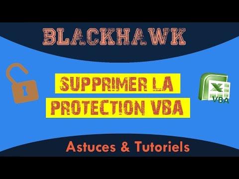 Supprimer la protection VBA