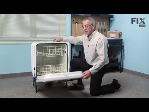 Whirlpool Dishwasher Repair – How to replace the Rinse Aid Cap