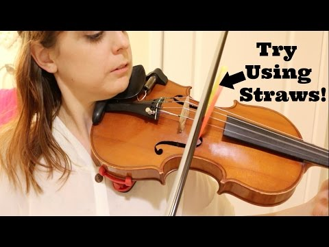 Practice Tips for Keeping the Bow Straight - Violin