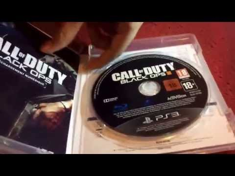 déballage de black ops 3 PS3 [UNBOXING] ;)