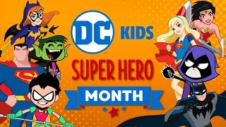 🔴 Watch Now Live: DC Super Hero Month | Super Fun Time! | DC Kids