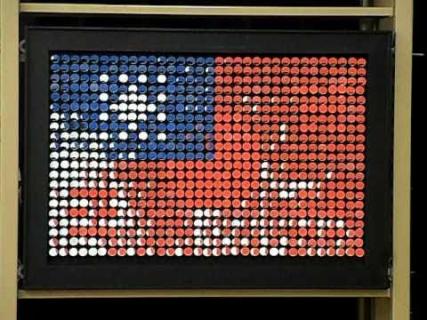 Interactive art using mirrors 2011(close up)