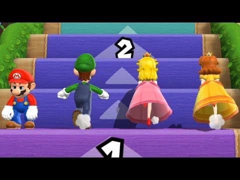 Mario Party 9 - Step It Up - Mario VS Luigi VS Peach VS Daisy (Master Difficulty)