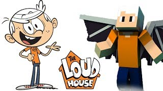 The Loud House Characters In Minecraft