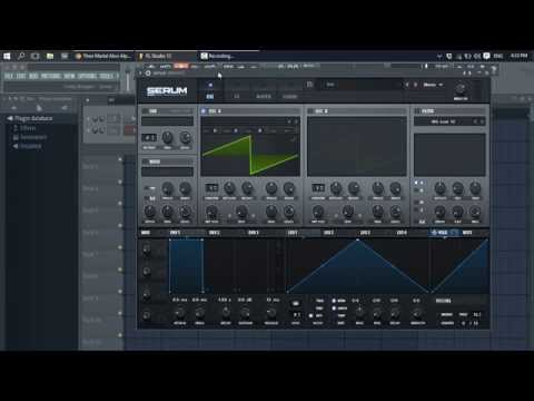 How to make Dubstep Growl Bass in Serum