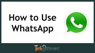how to use whatsapp