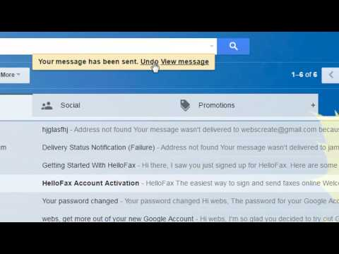 How to Undo, Delete or Edit sent mail in Gmail.