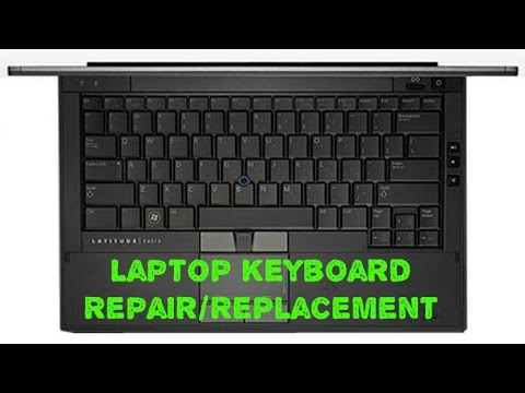 Laptop Keyboard Replacement - Dell Latitude E4310