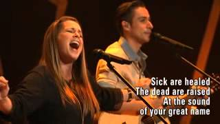Your Great Name, Gina Cooper with Jason Castro at Lake Pointe Church