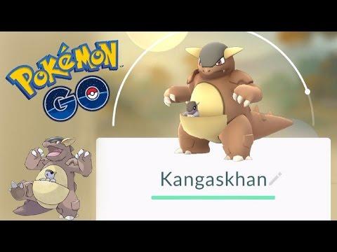I Got a Kangaskhan Pokemon Go How to catch a KANGASKHAN