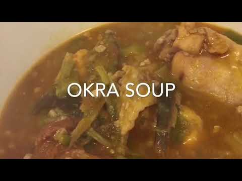 How To Prepare Fufu and Okra Soup