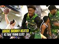 Bronny James 1st 360 DUNK Bronny Gets HEATED Vs Trae Young39s Team Blue Chips Put To The TEST