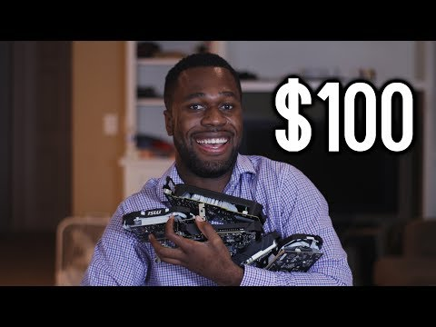 What's the best NEW $100 Graphics Card in 2017? (AMD vs NVIDIA - 6 GPUs tested!)
