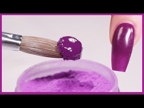 Full acrylic application with One bead: How To