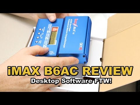 iMAX B6AC Battery Charger Review- balance your lithium!