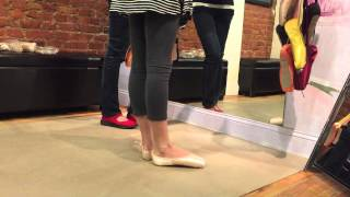 Pointe shoe fitting Grishko Nova