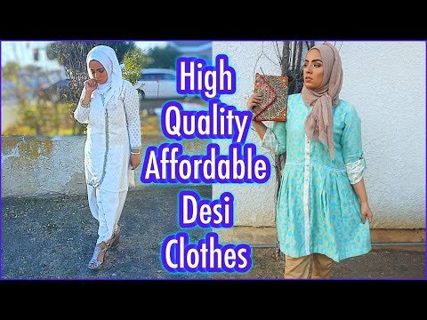 The Best Pakistani Clothing  Website (Yet!) Try-on Haul & Review ~ Zaibunnisa.pk