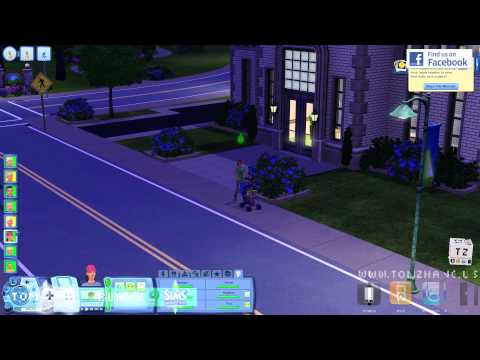 The Sims 3 Generations Toddler Baby Stroller and Teenage Driving Test HD