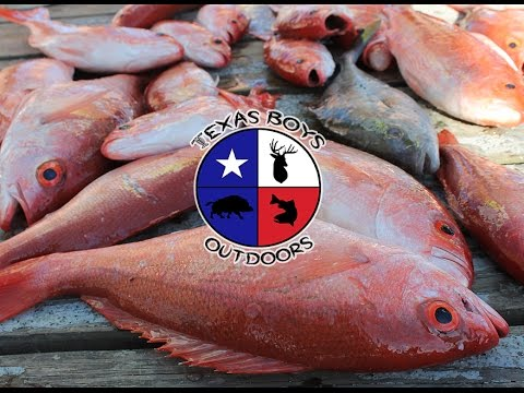 Texas Boys Outdoors - TX Boys Head Offshore with Bluefin Charters - Pursuit Channel