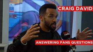 Craig David and Beyoncé collab? Craig David answers fan questions