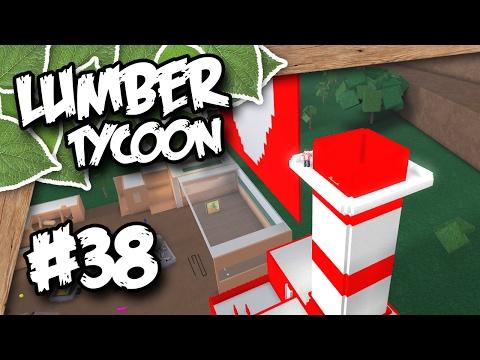 Lumber Tycoon 2 #38 - TOWER BALCONY (Roblox Lumber Tycoon
