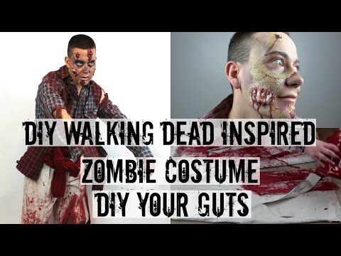 DIY YOUR GUTS | WALKING DEAD INSPIRED ZOMBIE COSTUME