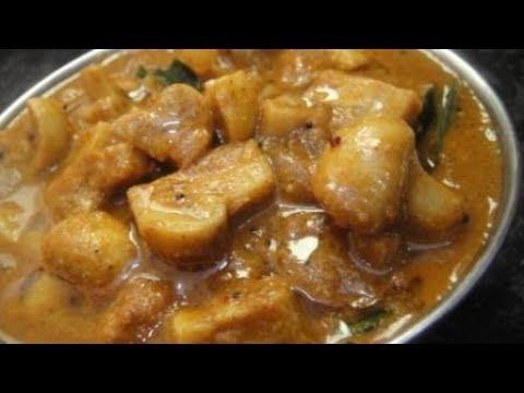 Kalan Getty Kulambu In Tamil   Chettinad Kalan Kulambu   Mushroom Gravy In Tamil   Gowri Samayalarai