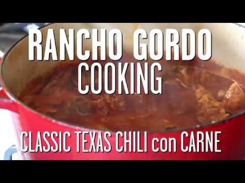 Rancho Gordo: Texas Chili con Carne with Taylor Boetticher