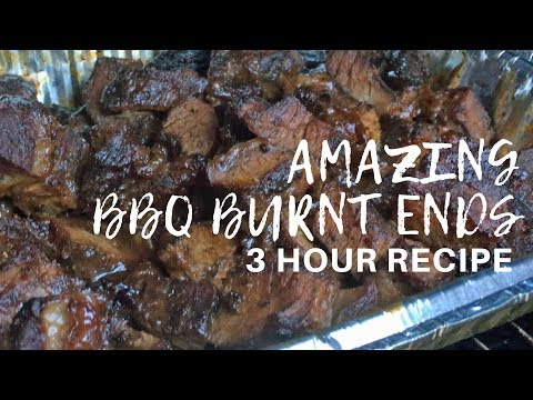 Smoked Burnt Ends - Quick BBQ Recipes | 3 Hours