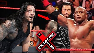 Roman Reigns Loses Against Bobby Lashley ! Why ? Extreme Rules 2018 Highlights Match Card !