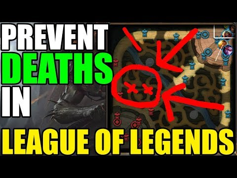 S8 How to Prevent Your Deaths From Ganks in League of Legends