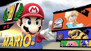 Super Smash Bros. Wii U - Initial Longplay Gameplay