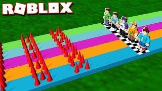Roblox Adventures -  DANGER RACE TOURNAMENT IN ROBLOX (Sprint Racing)