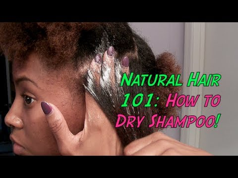 Natural Hair 101: How To Dry Shampoo! | Eugenia Says