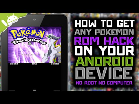 Android: How to Get Pokemon ROM Hacks! (NO COMPUTER) (NO ROOT)