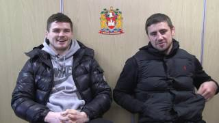 Wigan Warriors K2 Teammates with Bateman and McIlorum