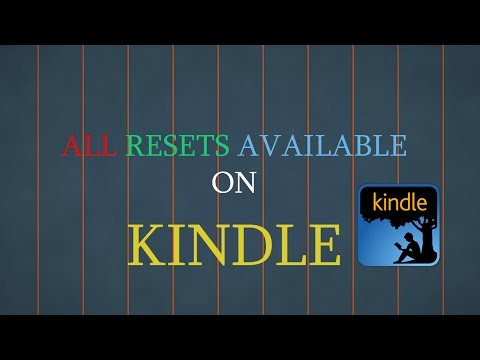 All Resets Available on Kindle