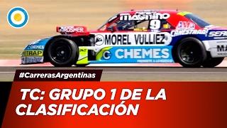 Automovilismo - Grupo 1 de la Clasificación del TC para la Fecha 1