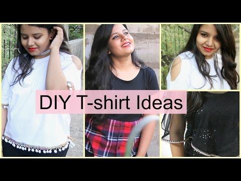 DIY T-shirts | Easy and Cheap Ft. Mukkta
